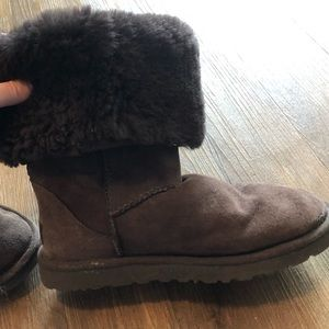 Women's Size 7 chocolate brown tall Ugg Boots